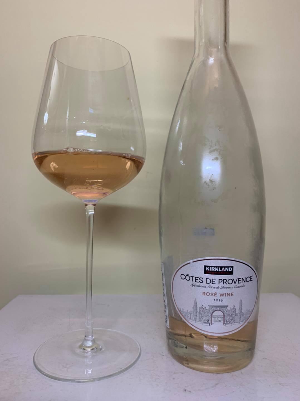 Kirkland Signature Cotes de Provence Rose wine