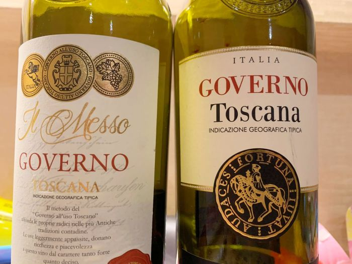 Poggio Cavalieri Governo Toscana