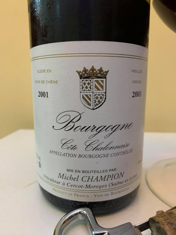 Michel Champion Bourgogne Cote Chalonnaise