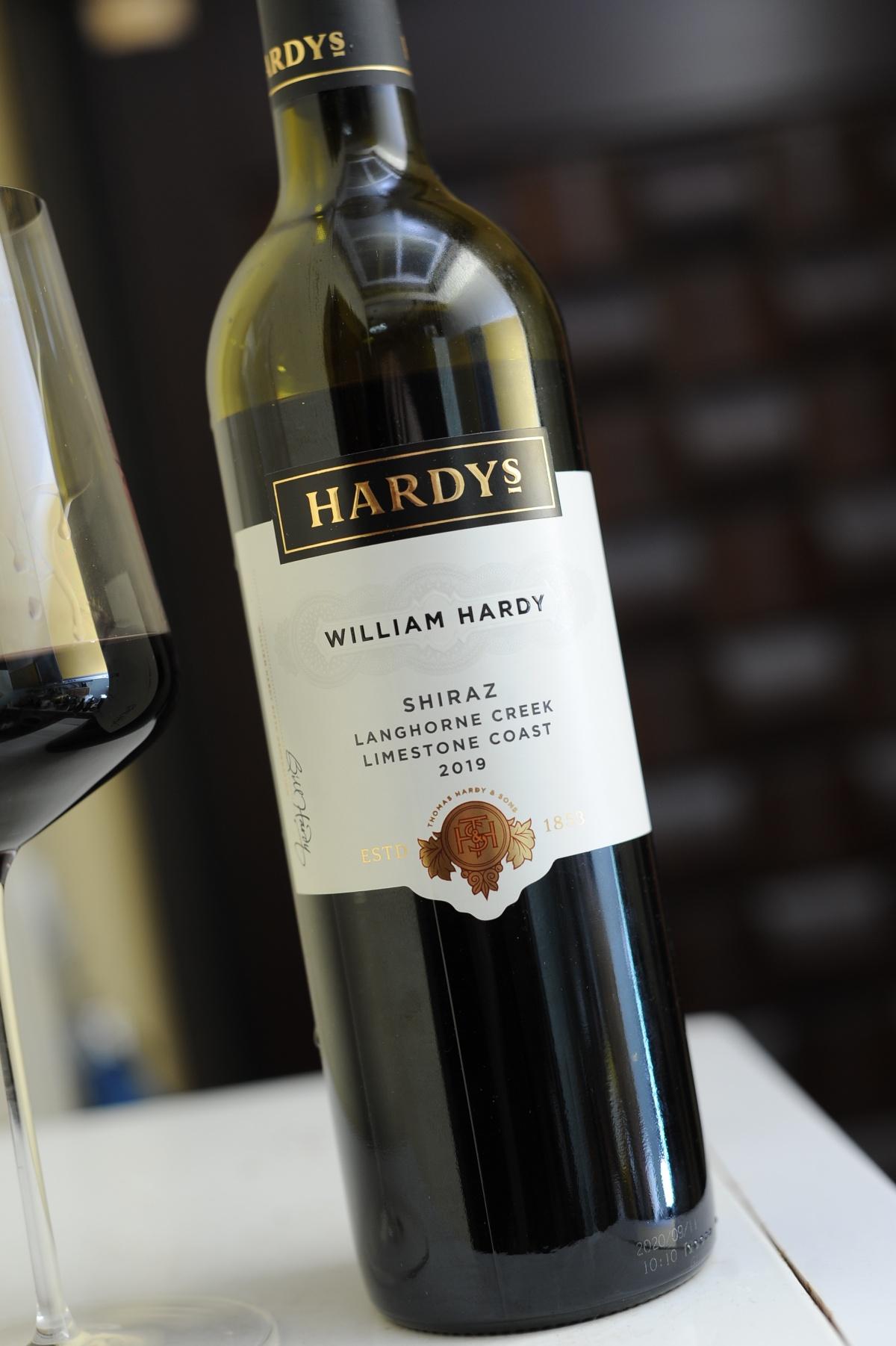 Hardy's William Hardy Shiraz