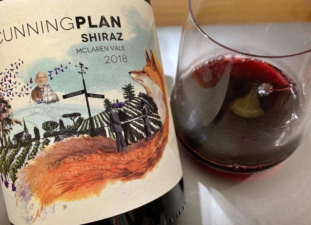 The cunning Plan Shiraz